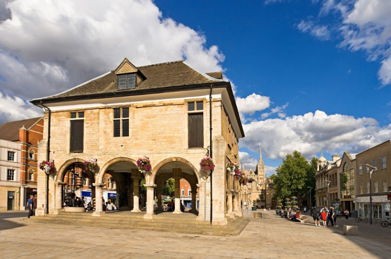 Peterborough city centre